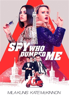 Spy Who Dumped Me 09/18 Blu-ray (Rental)