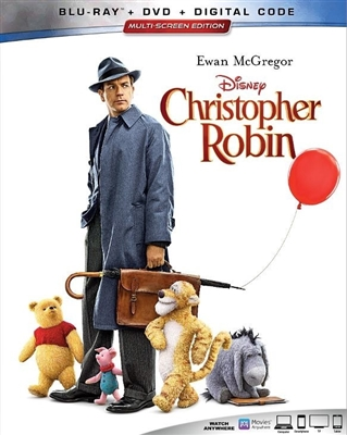 Christopher Robin 10/18 Blu-ray (Rental)