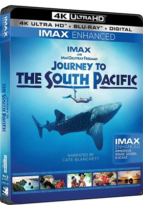 Journey to the South Pacific 4K UHD 10/18 Blu-ray (Rental)