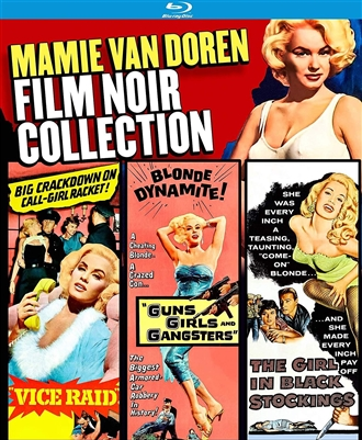 (Pre-order - ships 11/20/18) Mamie Van Doren Film Noir Collection 10/18 Blu-ray (Rental)