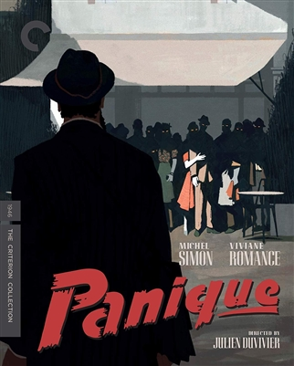 (Pre-order - ships 12/18/18) Panique The Criterion Collection 10/18 Blu-ray (Rental)