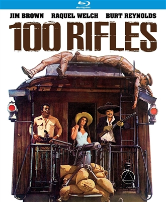 100 Rifles 11/16 Blu-ray (Rental)