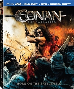 Conan the Barbarian 3D Blu-ray (Rental)