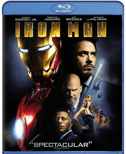 Iron Man 1 Blu-ray (Rental)