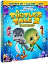Turtle's Tale 2: Sammy's Escape from Paradise 3D Blu-ray (Rental)