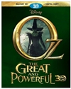 Oz the Great and Powerful 3D Blu-ray (Rental)