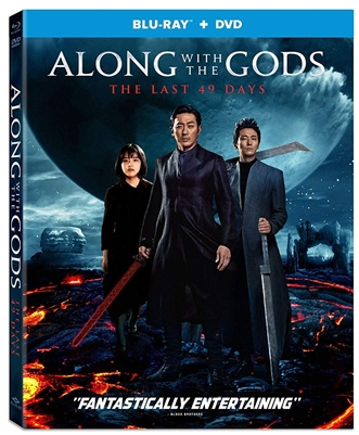 Along With The Gods: The Last 49 Days Blu-ray (Rental)