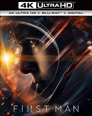 (Releases 2019/01/22) First Man 4K UHD 11/18 Blu-ray (Rental)