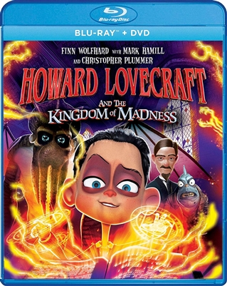 Howard Lovecraft And The Kingdom Of Madness 11/18 Blu-ray (Rental)