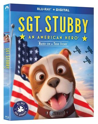 SGT Stubby: An American Hero 11/18 Blu-ray (Rental)