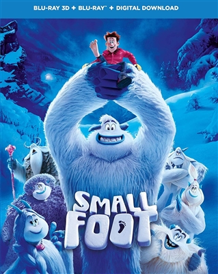 Smallfoot 2018 3D Blu-ray (Rental)
