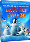 Happy Feet 2 3D Blu-ray (Rental)