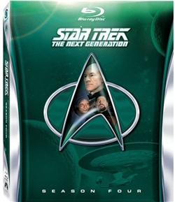 Star Trek Next Generation Season 4 Disc 1 Blu-ray (Rental)
