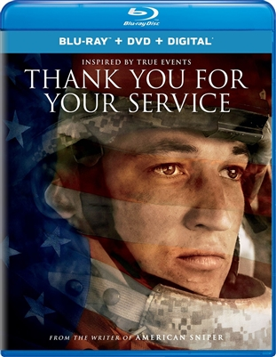 Thank You for Your Service 12/17 Blu-ray (Rental)