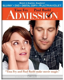 Admission Blu-ray (Rental)