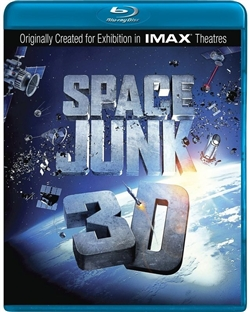 Space Junk 3D Blu-ray (Rental)