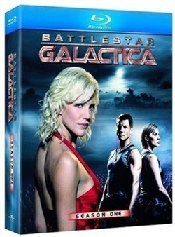Battlestar Galactica Season 1 Disc 3 Blu-ray (Rental)