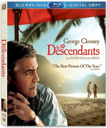 Descendants Blu-ray (Rental)
