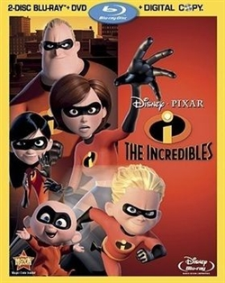 Special Features - The Incredibles Blu-ray (Rental)