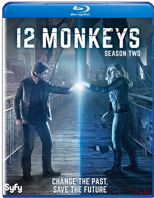 12 Monkeys: Season Two Disc 2 Blu-ray (Rental)