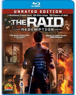 Raid: Redemption Blu-ray (Rental)