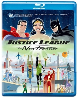 Justice League: The New Frontier Blu-ray (Rental)