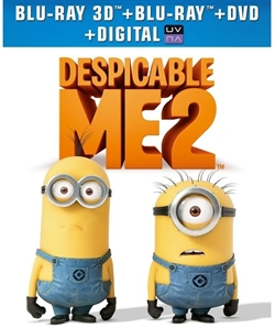 Despicable Me 2 3D Blu-ray (Rental)