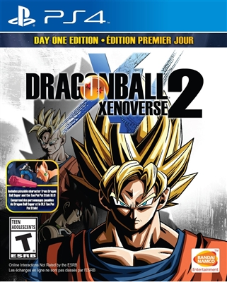 Dragon Ball Xenoverse 2 PS4 09/16 Blu-ray (Rental)