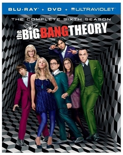 Big Bang Theory Season 6 Disc 2 Blu-ray (Rental)