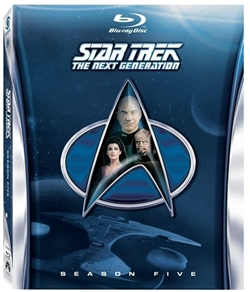 Star Trek Next Generation Season 5 Disc 5 Blu-ray (Rental)