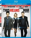 This Means War Blu-ray (Rental)