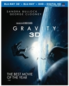 Gravity 3D Blu-ray (Rental)