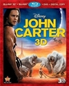 John Carter 3D Blu-ray (Rental)