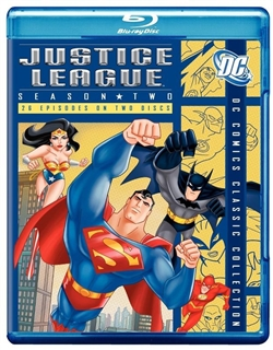 Justice League Season 2 Disc 1 Blu-ray (Rental)
