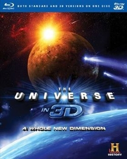 Universe A Whole New Dimension 3D Blu-ray (Rental)