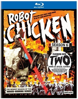 Robot Chicken Season 6 Blu-ray (Rental)