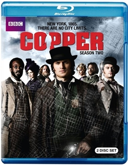Copper: Season Two Disc 1 Blu-ray (Rental)