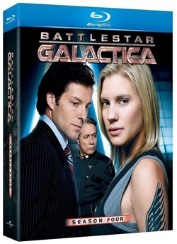 Battlestar Galactica Season 4 Disc 1 Blu-ray (Rental)