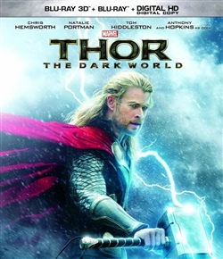 Thor The Dark World 3D Blu-ray (Rental)