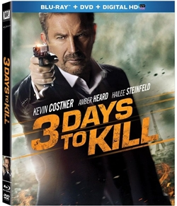 3 Days to Kill Blu-ray (Rental)