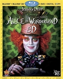 Alice in Wonderland 3D Blu-ray (Rental)