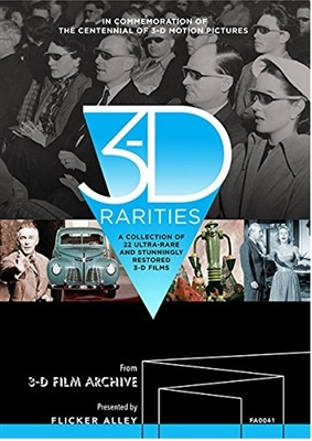 3-D Rarities Blu-ray (Rental)