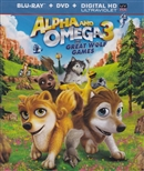 Alpha and Omega 3: The Great Wolf Games Blu-ray (Rental)