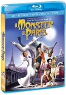 Monster in Paris 3D Blu-ray (Rental)