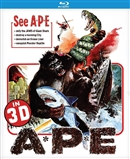 APE / The New King Kong 3D Blu-ray (Rental)