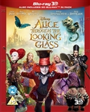 Alice Through the Looking Glass 3D Blu-ray (Rental)