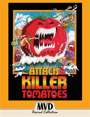 Attack of the Killer Tomatoes! 10/17 Blu-ray (Rental)