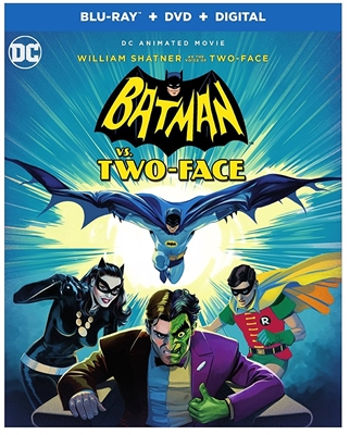Batman vs Two Face 08/17 Blu-ray (Rental)