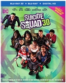 Suicide Squad 3D Blu-ray (Rental)