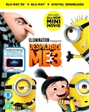 Despicable Me 3 3D Blu-ray (Rental)